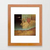 Overlands Framed Art Print