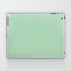 Yellow Pit on Mint /// www.pencilmeinstationery.com Laptop & iPad Skin