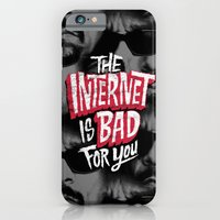 The Internet is Bad for You iPhone 6 Slim Case