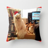 LES CATASTROPHES XMAS EDITION Throw Pillow