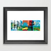 Little Odessa Framed Art Print