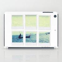 Polaroid Collage 'Longtail Boat' iPad Case