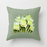 Emerald City. Throw Pillow