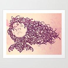 The Muses, no. 4 Art Print