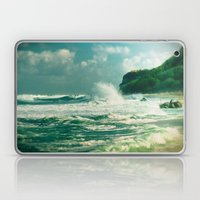 Stormy sea Laptop & iPad Skin