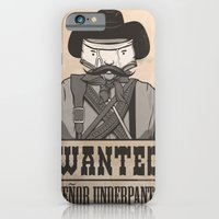 iPhone & iPod Case featuring WANTED: SENOR UNDERPANTS by Andy Hunt