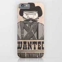 WANTED: SENOR UNDERPANTS iPhone 6 Slim Case