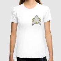 Star Trek, Communicator  Womens Fitted Tee White SMALL