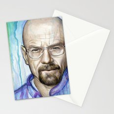Walter White Portrait Stationery Cards
