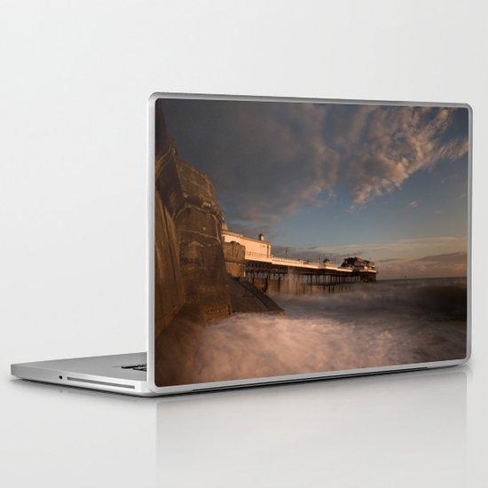 Cromer Pier at dawn Laptop & iPad Skin