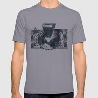 Camera Mens Fitted Tee Slate SMALL