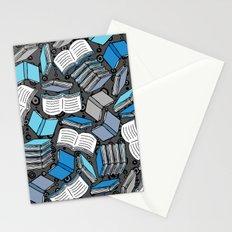 So Many Books... Stationery Cards