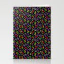 Colored Only in a Square World Stationery Cards