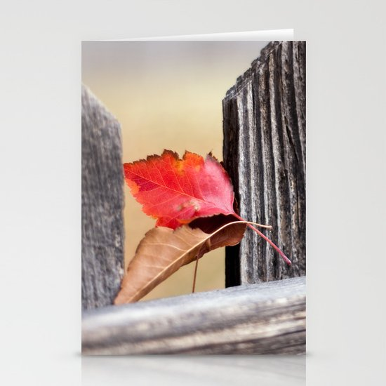 On the Fence Stationery Card