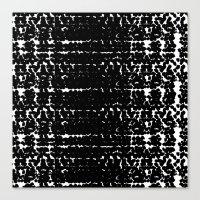 Black Mood Canvas Print