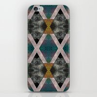 Trippin' on a mountain and falling into space iPhone & iPod Skin