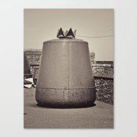 Old Maritime Buoy, Hook Head Co. Wexford, Ireland Canvas Print