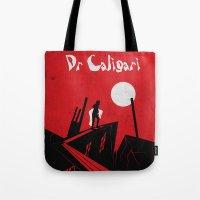 Das Kabinett Des Dr Cali… Tote Bag