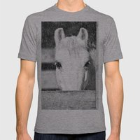Winter Horse Mens Fitted Tee Athletic Grey SMALL