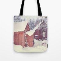 Winter Wonderland- Swede… Tote Bag