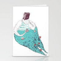 Sad Fat And Ugly Stationery Cards