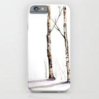 Birch Trees in January iPhone 6 Slim Case