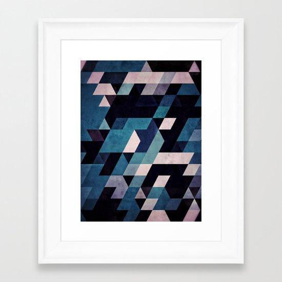 blux redux Framed Art Print