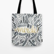 Pardon My French – Bla… Tote Bag