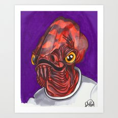 Admiral Trap Art Print