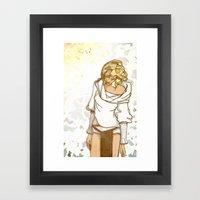 I Miss The Sun Framed Art Print