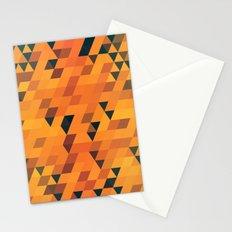 Gold Pattern Stationery Cards