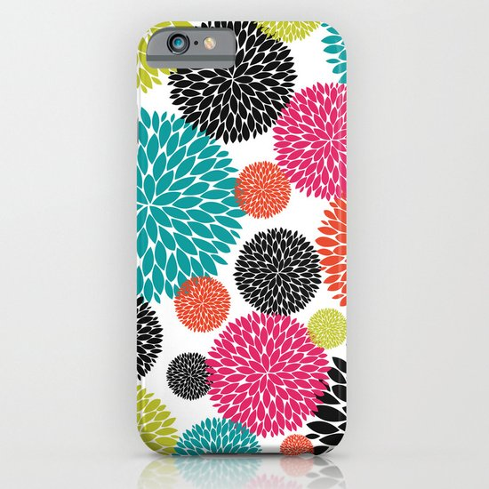 Tropical Flowers iPhone & iPod Case