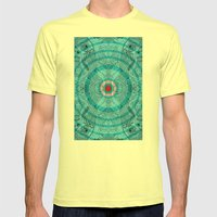 Ocells  Mens Fitted Tee Lemon SMALL