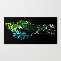 Cellular Automata Canvas Print