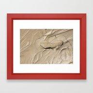 FootPrint In Hidden Sink… Framed Art Print