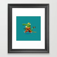 Buya the Firefighter Framed Art Print