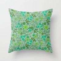 Floral2 Throw Pillow