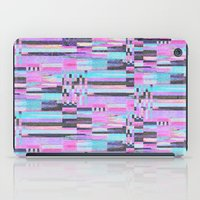 Pink Lines Of Chalk iPad Case