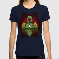 The Bounty Hunter Womens Fitted Tee Navy SMALL