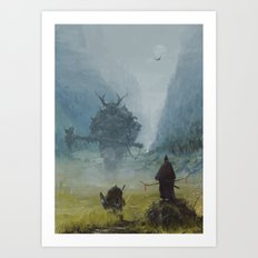 brothers in arms - worlord  Art Print