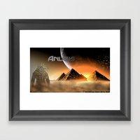 Desert Spirit Framed Art Print