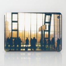 People Silhouettes iPad Case