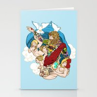 Jesus Piece Stationery Cards