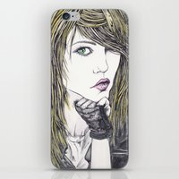 Sascha iPhone & iPod Skin
