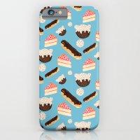 sweet things (on blue) iPhone 6 Slim Case