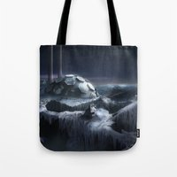 Ice City Tote Bag