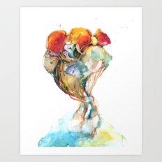 System #13: Mandioas (cont.) Art Print