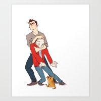 Goober Derek Art Print