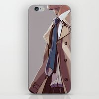 In Plumed Procession iPhone & iPod Skin