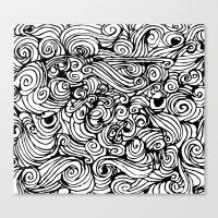 Boredom Canvas Print